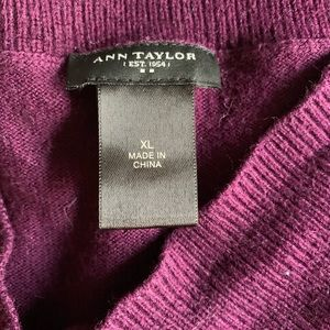 Ann Taylor Sweaters - Ann Taylor sweater (xl) - mid- thigh length